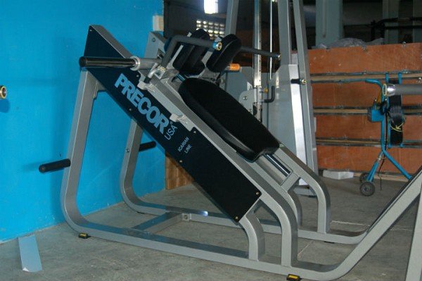 Hack Squat Lineal Estilo Precor